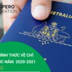 Chỉ tiêu chính thức cho các chương trình định cư tay nghề Úc năm 2020 – 2021