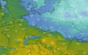 Đối lập hai thái cực thời tiết ở Châu Âu:  Bắc Âu sẽ ngập tuyết 100 năm, nam Âu ấm áp sang xuân