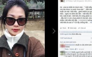 """Nàng Việt Kiều xinh đẹp đáp trả thẳng thừng khi bị trách móc: """"Việt kiều mà chả cho tao được lọ nước hoa nào"""""""