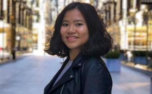 Cô nàng du học sinh bỏ đại học Mỹ về Việt Nam : Bỏ thời gian tiền bạc để du học ở Mỹ mà không định cư quả không đáng